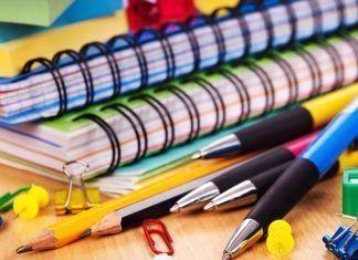 Material escolar con bisfenol a