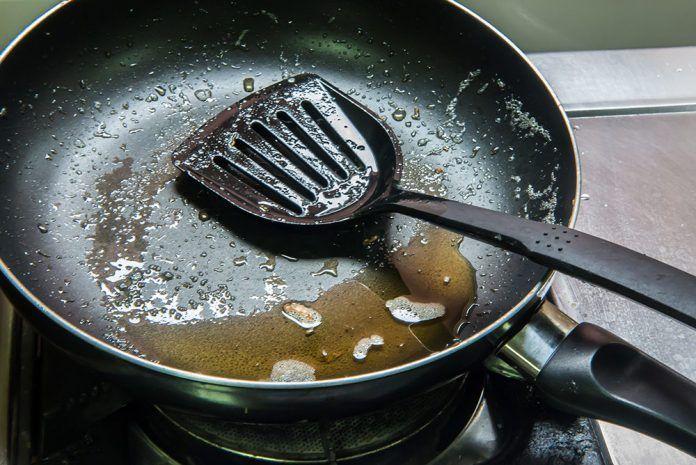 Aceite usado peligro oli usat perill