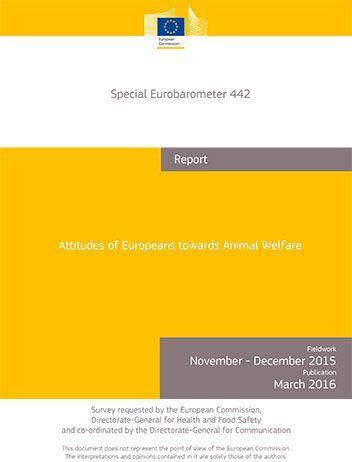 Eurobarometer 2016 Animal Welfare 1