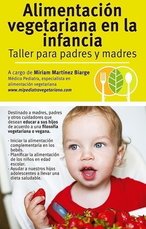 alimentacion vegetariana en la infancia