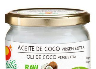 Aceite de coco retoque
