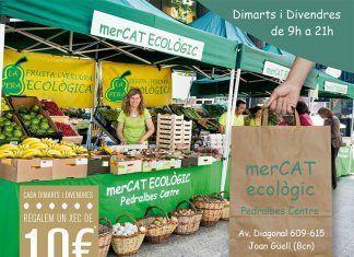 mercat ecològic pedralbes centre