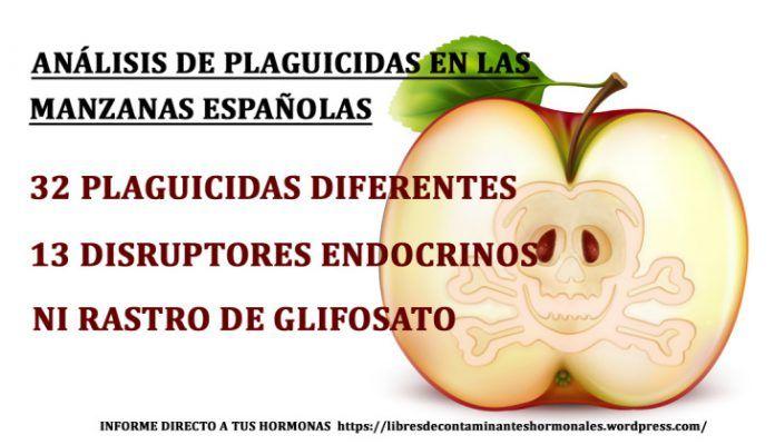 manzanas sin glifosato