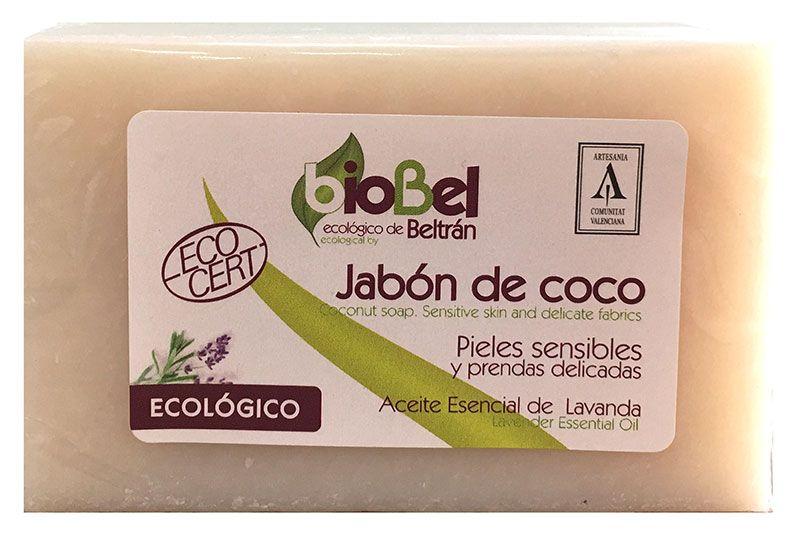 Jabón Pastilla coco bioBel 240g web