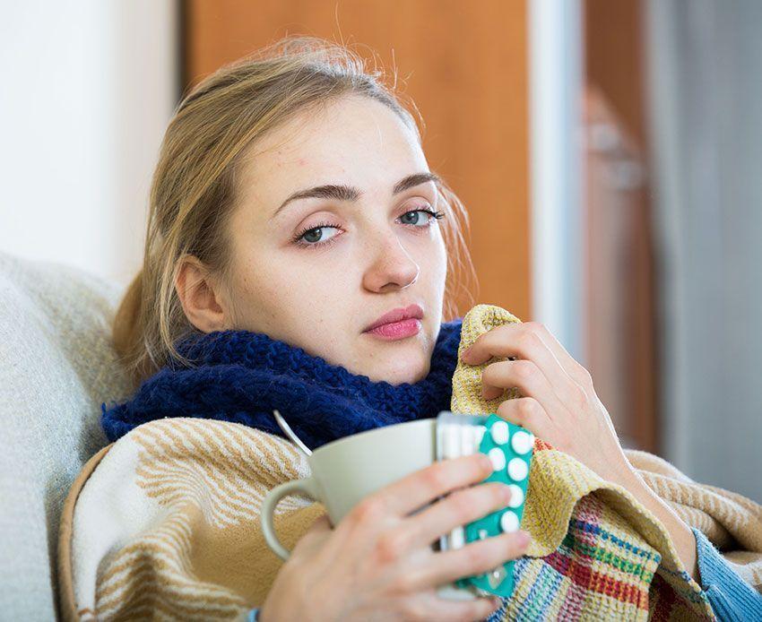 Cuidar del resfriado de forma natural. Fitoterapia y apiterapia en sinergia