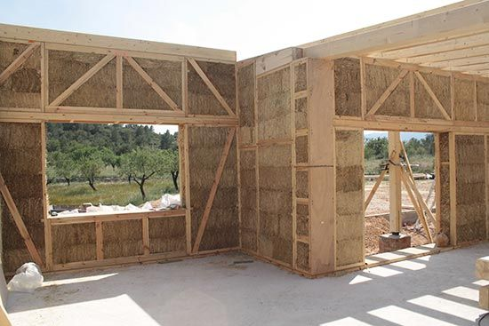 habitaje sostenible paja