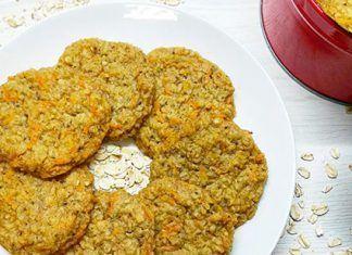 receta ninos galletas avena manzana