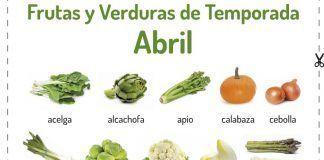 frutas verduras abril 17