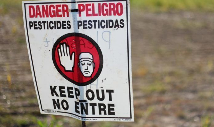 glifosato EPA california