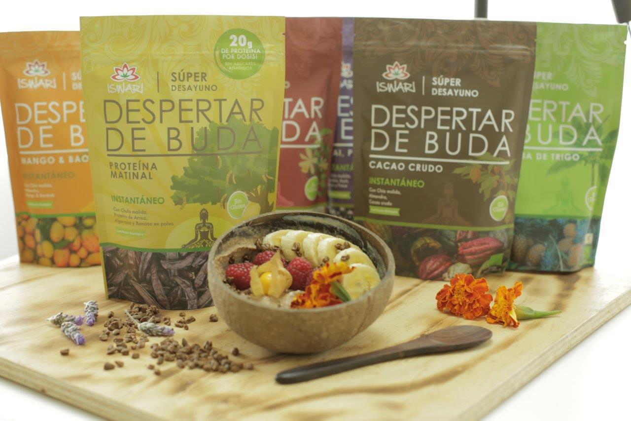 despertar de buda superalimentos iswari ecológicos veganos sin gluten