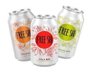 cola ecológica FREE.SH: el primer refresco bio carbonatado del mercado dulcificado con zumo concentrado de manzana