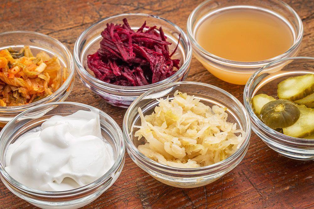 alimentos fermentados salud digestión