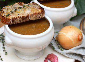 Sopa de Cebolla Detox y Alcalinizante receta sana Recepta: Sopa de Ceba Detox i Alcalinitzant recepta sana