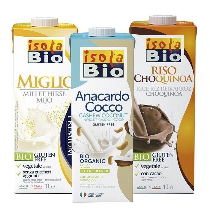 Bebidas ecológicas, vegetales, innovadoras y sostenibles, de Isola Bio