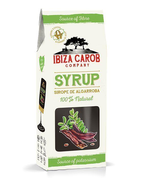 Sirope de algarroba, un edulcorante revolucionario, de Ibiza Carob Company