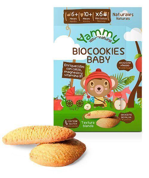 Galletas ecológicas para bebés, de Yammy