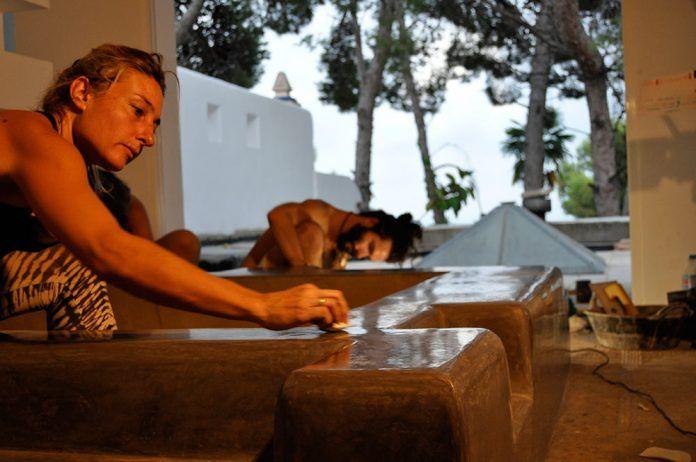 Vivienda sostenible: El tadelakt, técnica tradicional de revoco de cal marroquí habitatge sostenible
