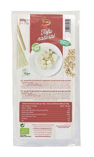 Tofu natural sin gluten, de Vivibio
