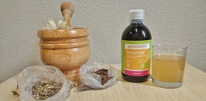 Ayuda tus tus defensas en invierno con Bergamota, Equinácea y Ipe Roxo, Greenproject cosmética natural ecológica
