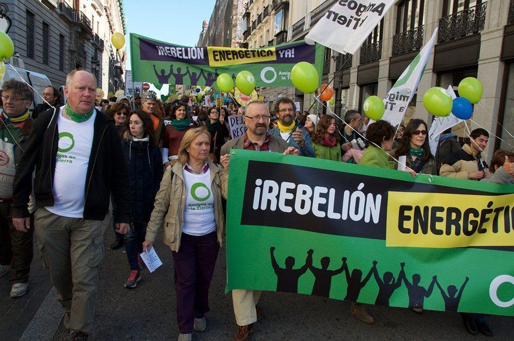 Los cinco dedos de la mano de las ONG Ecologistas en España