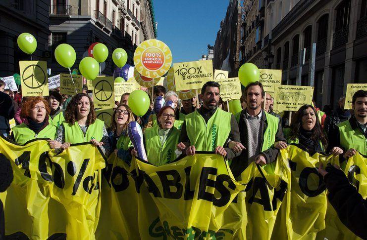Los cinco dedos de la mano de las ONG Ecologistas en España ong ecologistes a espanya