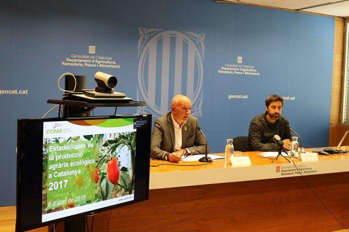 La superfície de producció ecològica a Catalunya supera en més del doble la de fa cinc anys