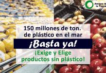 ¡Queremos más acción para frenar la contaminación por plásticos!