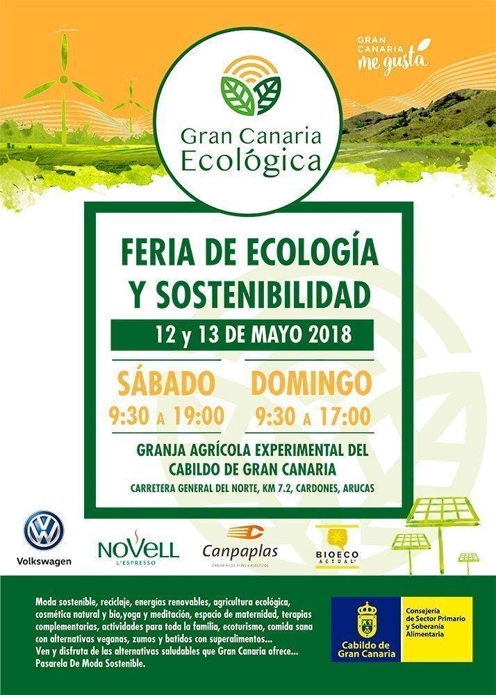 Productos ecológicos, elaboraciones artesanas y respeto por el medio ambiente protagonizan la II Feria de Ecología y Sostenibilidad de Gran Canaria