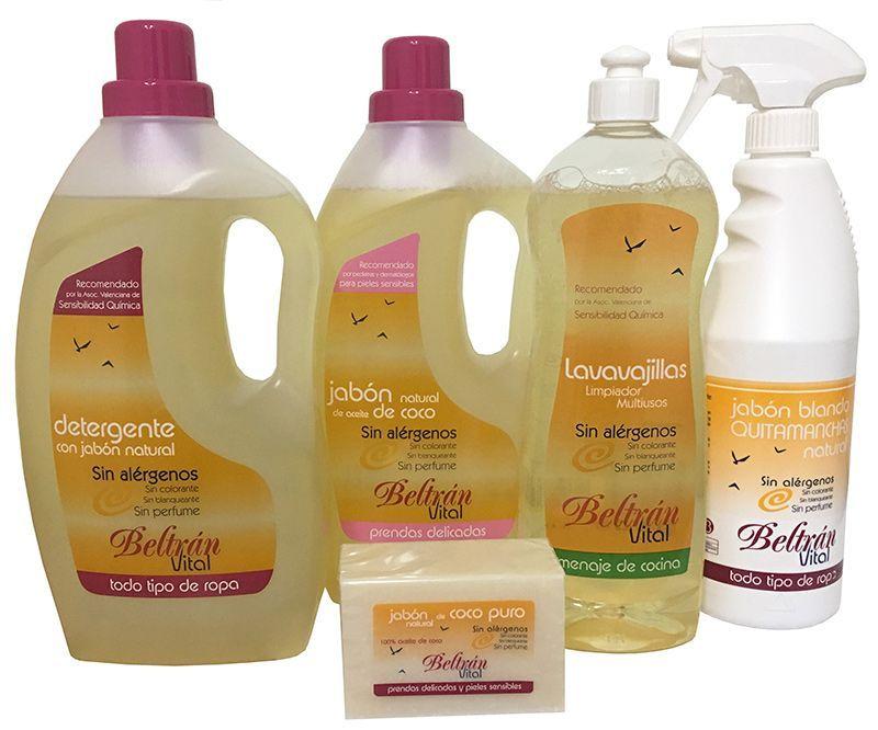 Productos sanos para nuestro hogar, de Beltrán Vital