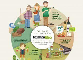 Setmana Bio per a l'alimentació ecològica: del 20 al 28 d'octubre de 2018