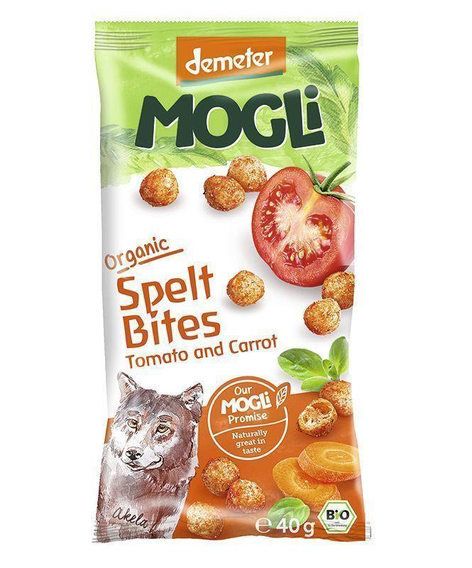 Snacks de Tomate y Zanahoria , de Mogli