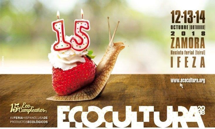 Ecocultura 2018: del 12 al 14 de octubre en Zamora