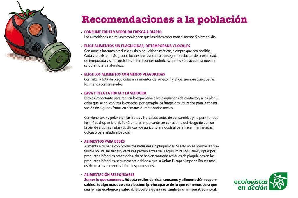 Recomendaciones para evitar contaminantes hormonales