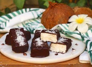 Barritas Heladas Veganas de Coco Barretes Gelades Veganes de Coco