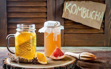 aliments fermentats Cómo introducir alimentos fermentados en el día a día y disfrutar de sus beneficios kombucha
