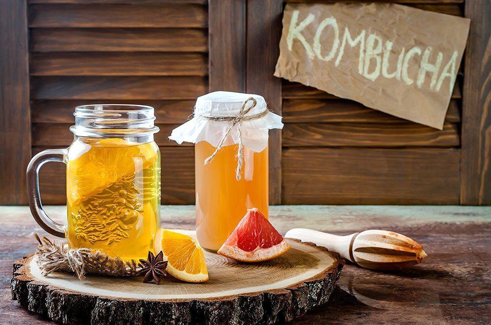 Cómo introducir alimentos fermentados en el día a día y disfrutar de sus beneficios kombucha
