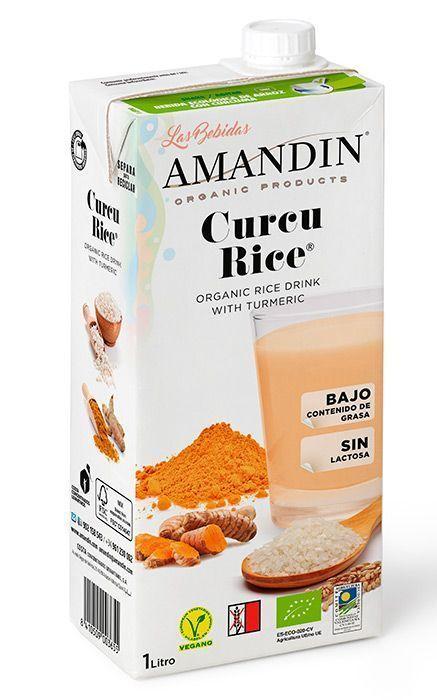 Bebida de Arroz con Cúrcuma, de Amandín