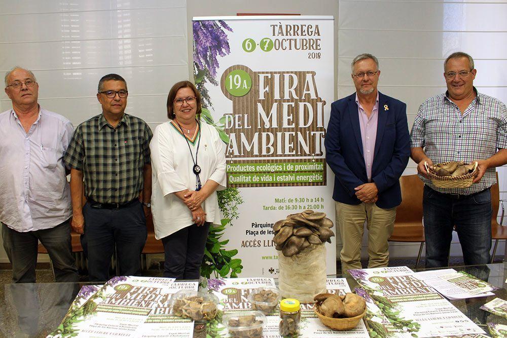La 19a Fira del Medi Ambient de Tàrrega aplegarà una vuitantena d'expositors i 45 activitats de divulgació ecològica els dies 6 i 7 d'octubre