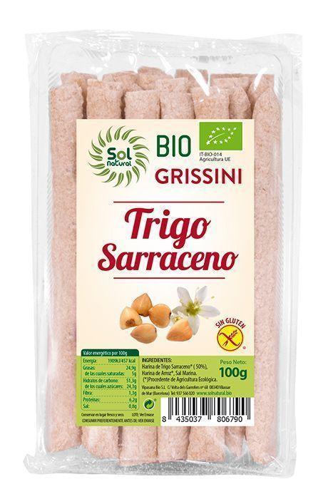 Nuevos Grissoni de Trigo Sarraceno, de Sol Natural