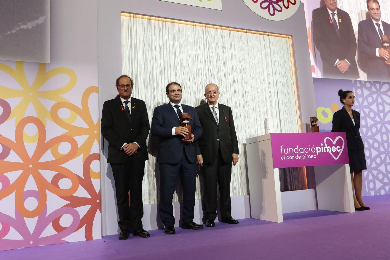 Mel Muria guardonada per PIMEC amb el Premi a la Petita Empresa més Competitiva de Catalunya