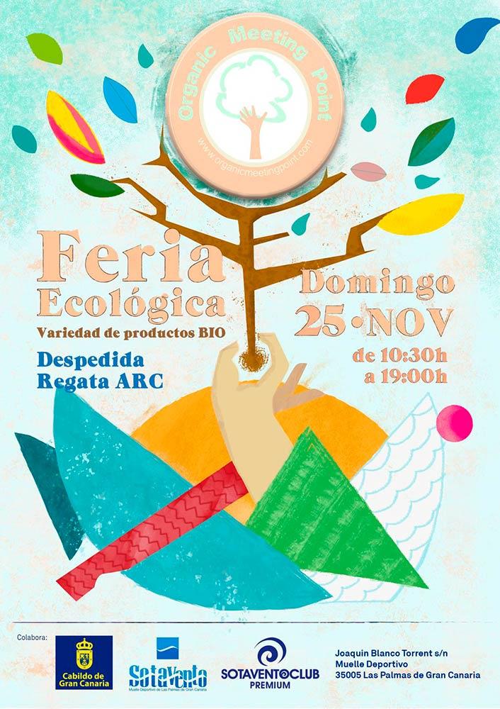 Organic Meeting Point, nuevo mercado ecológico el 25 de noviembre en Las Palmas de Gran Canaria