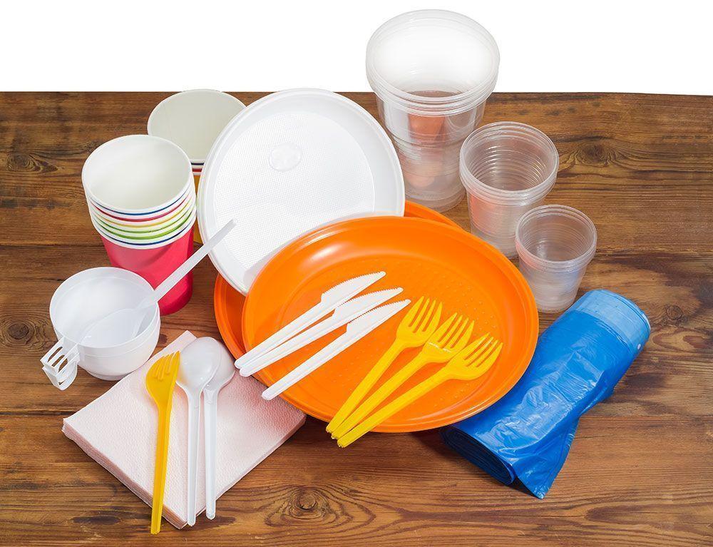 plásticos de 1 uso