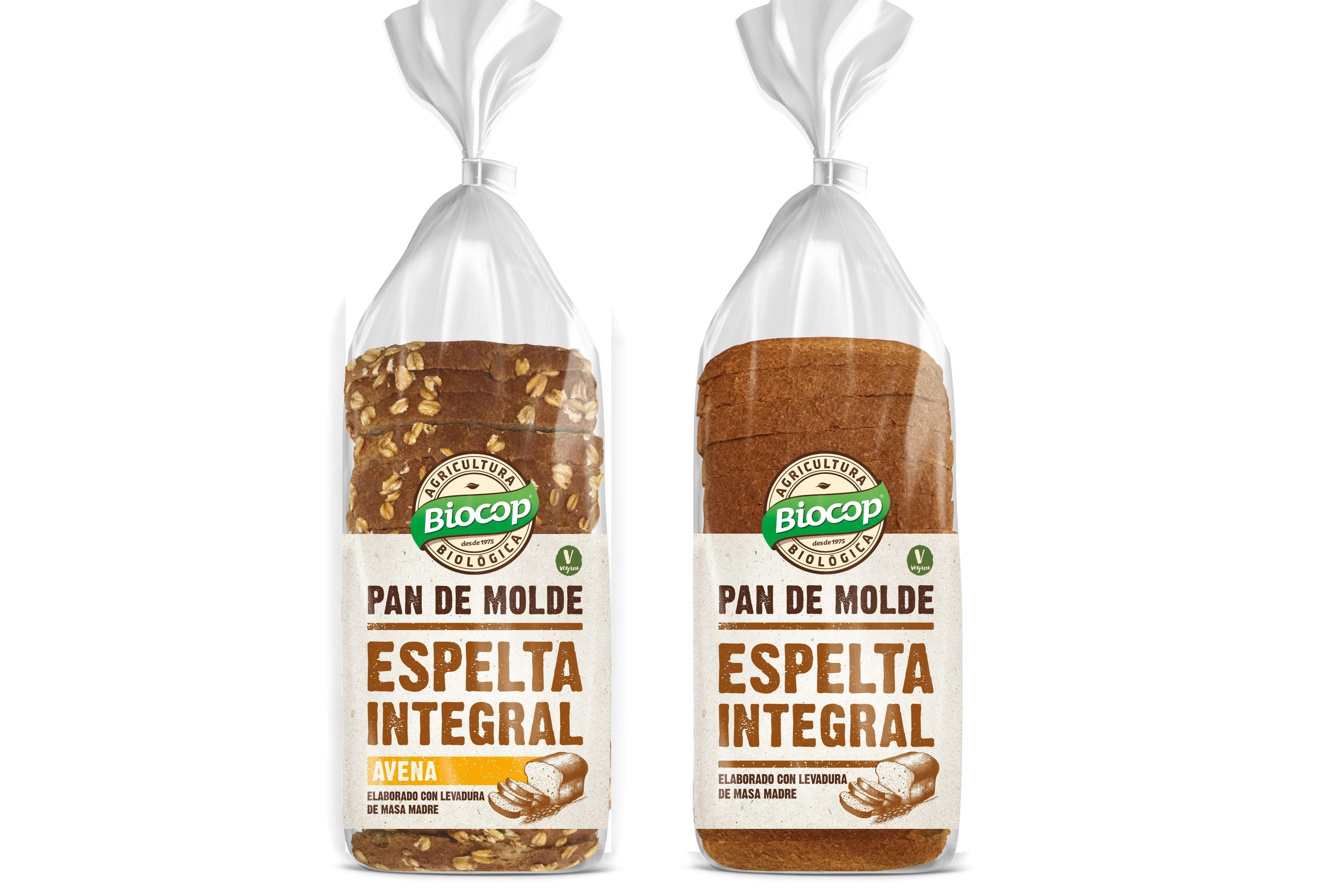 Nuevos panes de molde tiernos y sabrosos, de Biocop