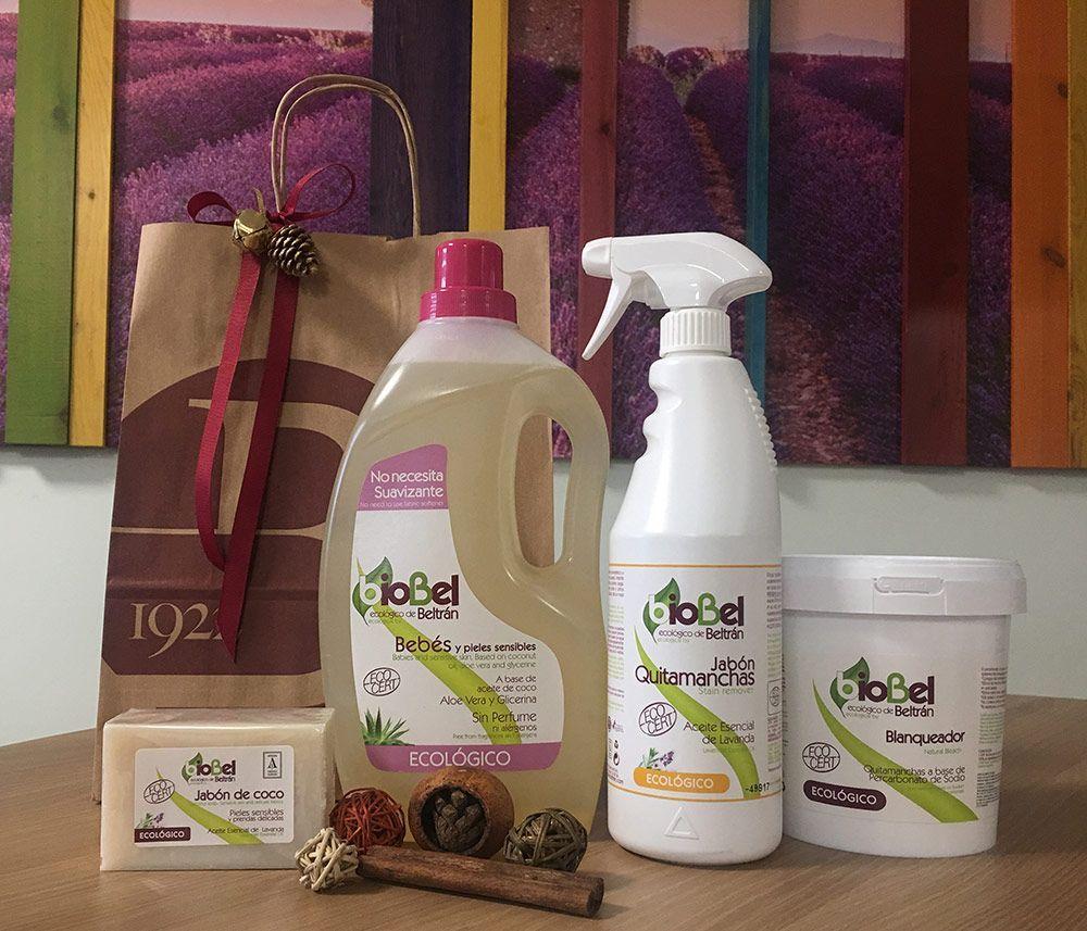 navidad sostenible lote biobel jabon ecologico cosmetica ecologica navidad responsable