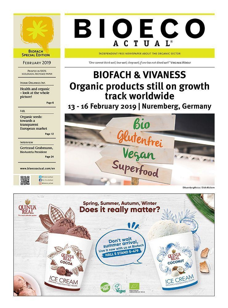 Bio Eco Actual BIOFACH & VIVANESS 2019