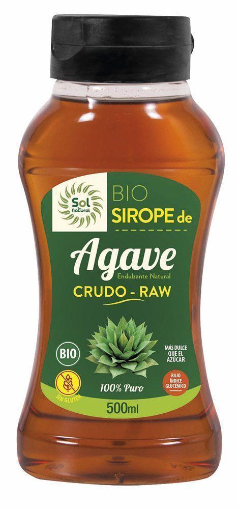 Nuevo Sirope de Agave Raw-Crudo, de Sol Natural
