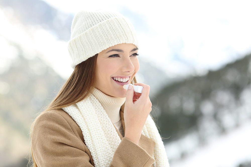Cuidado de los labios en invierno