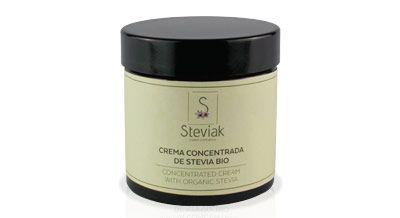 Crema facial concentrada de stevia bio