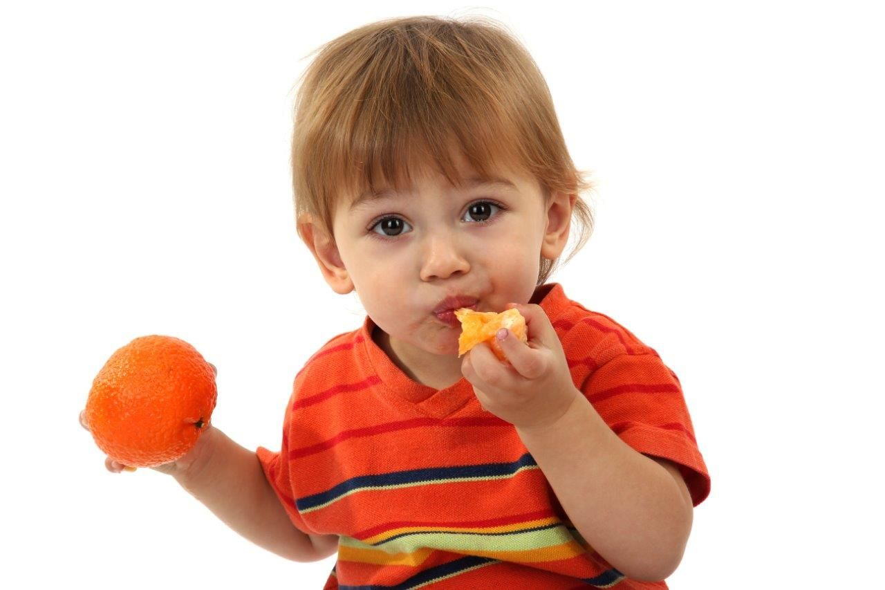 Nutrición infantil: Mandarinas para prevenir la anemia