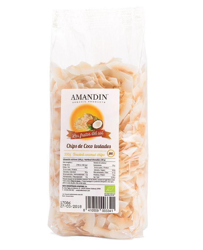 Chips de Coco Tostados, de Los Frutos del Sol